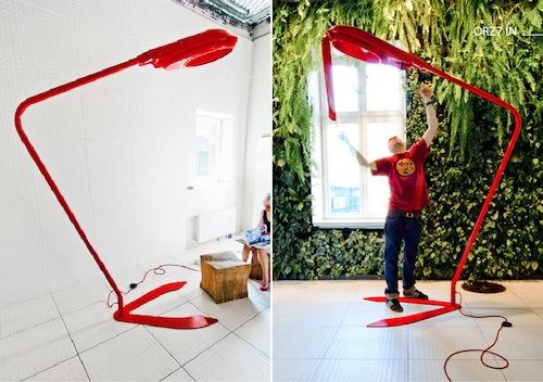 Lampa ORZ7 IN Projekt: Filip Gałuszka / Speys.pl Producent: Meble Jang